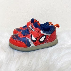 Spider-Man Marvel LIGHT UP Sneakers Red Blue